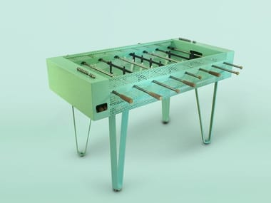 Rectangular metal football table JOIE