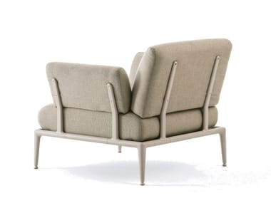 Upholstered fabric armchair JOINT | Armchair
