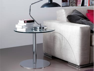 Round steel coffee table JOLLY | Round coffee table