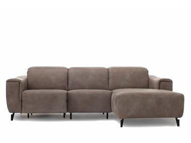 Sectional fabric sofa with electric motion JOY