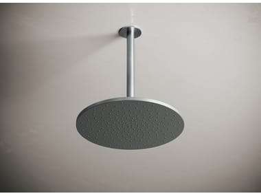 Ceiling mounted round stainless steel rain shower JP 31