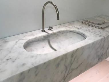 Wall-mounted marble washbasin JP BASIN