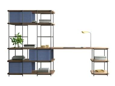 Modular desk shelves JULIA JO04