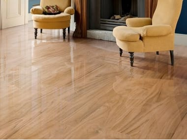 Porcelain stoneware flooring with wood effect JUNGLELUX HONEY