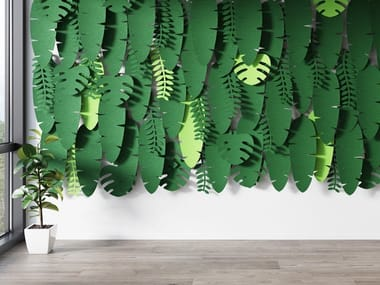 Fabric Decorative acoustic panel JUNGLEWALL
