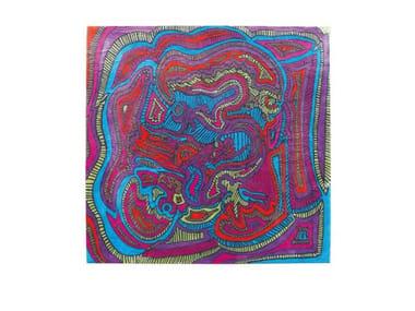 Handmade wool rug JUNJEL