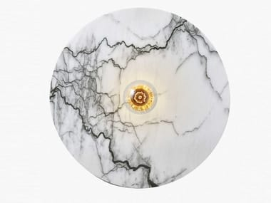 Lampada da parete fatta a mano in marmo JUPITER