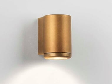 Brass Outdoor wall Lamp with dimmer JURA | Outdoor wall Lamp