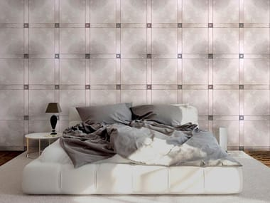 Indoor leather wall tiles JUST