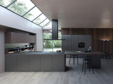 Cucine in alluminio con maniglie integrate | Archiproducts