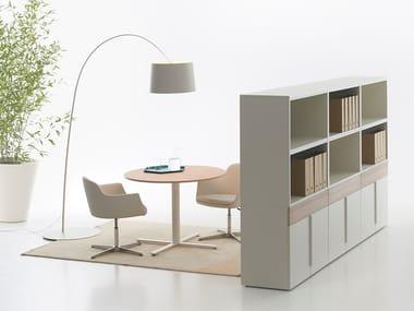 Modular office storage unit with hinged doors K-BOX   Office storage unit