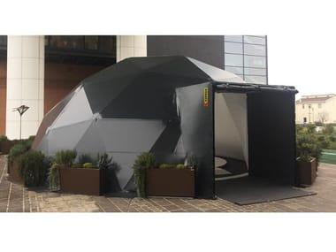 Steel and PVC Tensile structure K-IGLOO OUTDOOR