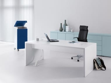 Rectangular office desk K-MODUL WORK+MEET