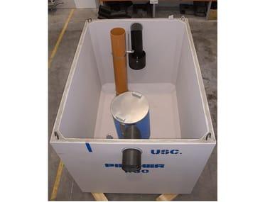 Oil separator, de-oiler and grease separator K | Oil separator, de-oiler and grease separator