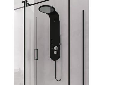 Colonna doccia in Ksolid con getto nebulizzato K-RAIN
