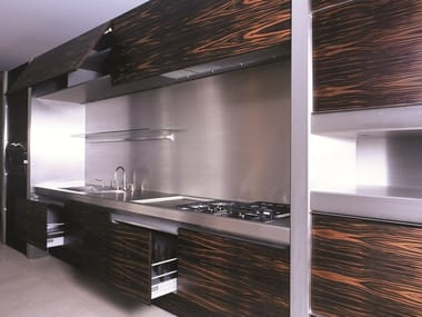 Ebony kitchen with island K01 npu 20.40