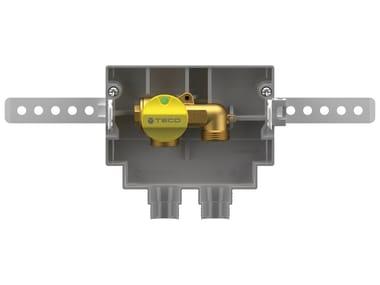 "Flush-mounting ""U"" gas shut-off cock K2.1"