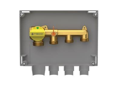 Three-port single shut-off gas manifold K2.4