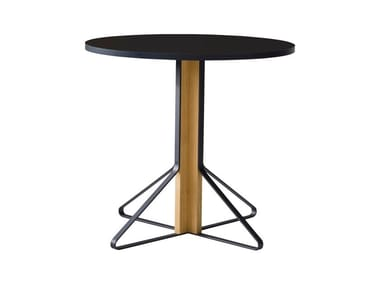 Round wooden table KAARI | Round table