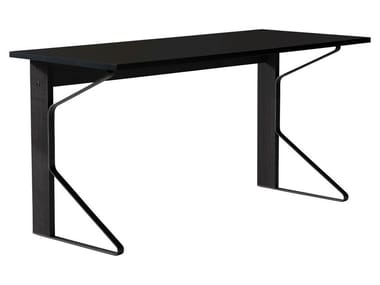 Lacquered rectangular writing desk KAARI | Writing desk