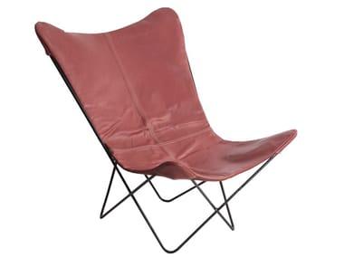 Leather armchair KABO