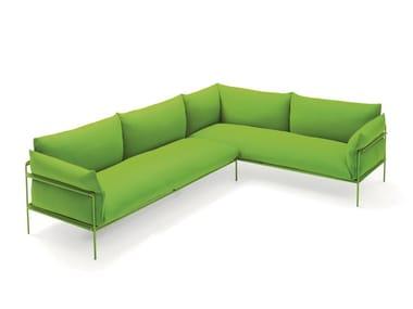 Modulares Sofa aus Polyester KABÀ | Modulares Sofa