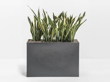 Panca da giardino / fioriera in polietilene KADO
