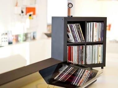 Wooden CD rack KADR | CD rack