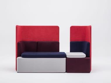 3 seater fabric sofa KAIVA