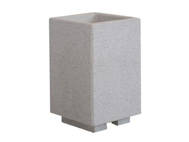 Fioriere in conglomerato di marmo e cemento KAMPALA