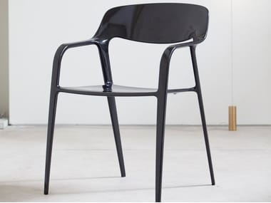 Stackable carbon fibre chair KARBON
