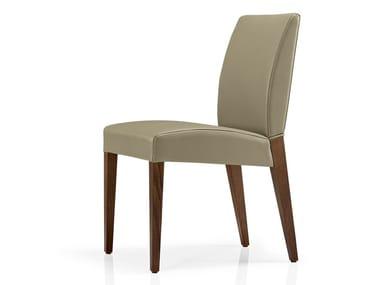 Cadeira de pele de restaurante KAREN | Cadeira