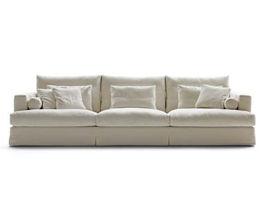 3 seater fabric sofa with removable cover KARMA