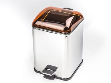 Stainless steel bathroom waste bin KARTA