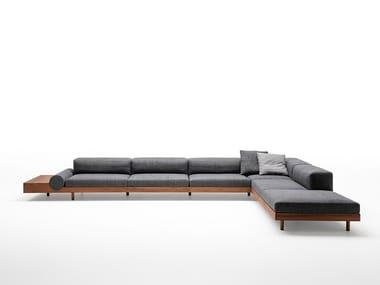 Canapé de jardin composable KASBAH