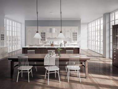 Fitted kitchen with island LUXURY | Kitchen