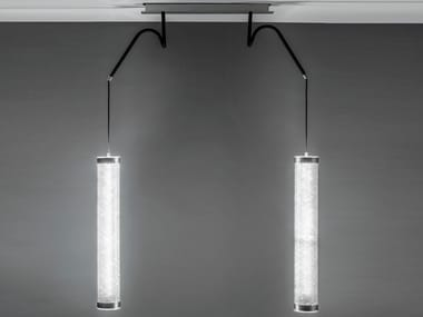 Lampada a sospensione a LED in acciaio KATE | Lampada a sospensione