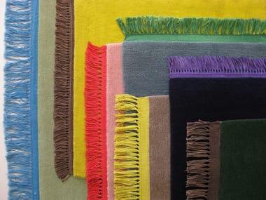 Solid-color wool rug KAVIR