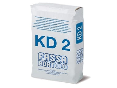 Intonaco fibrorinforzato a base di calce e cemento KD 2