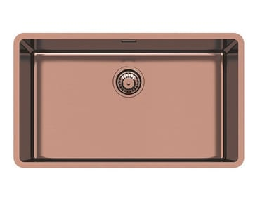Single undermount stainless steel sink KE R15 71X40 S/TOP COPPER B.