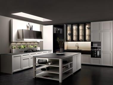 Solid wood kitchen with island KEA | Kitchen with island