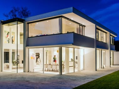 Aluminium sliding window KELLER minimal windows®4+ highline