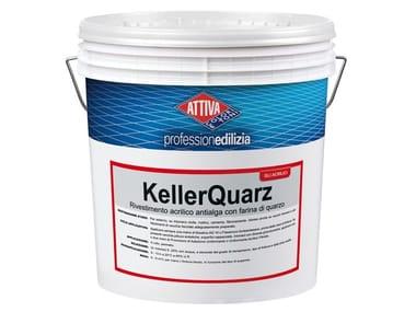 Pittura acrilica antialga con farina di quarzo KELLERQUARZ