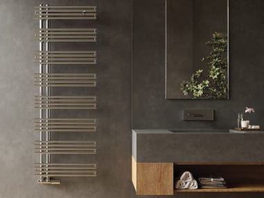 Hot-water stainless steel towel warmer KELLY