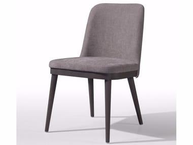 Cadeira estofada de tecido KELLY