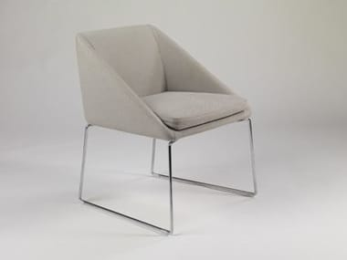Fabric chair with removable cover KELLY | Chair