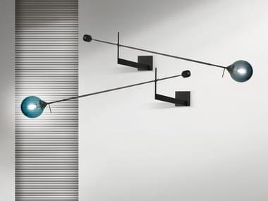 Lampada da parete in vetro soffiato KENDAMA | Lampada da parete