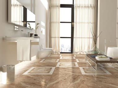 Wall/floor tiles with marble effect KENIA