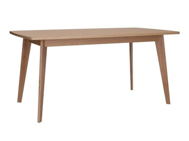 Extending wooden dining table KENSAL | Extending table