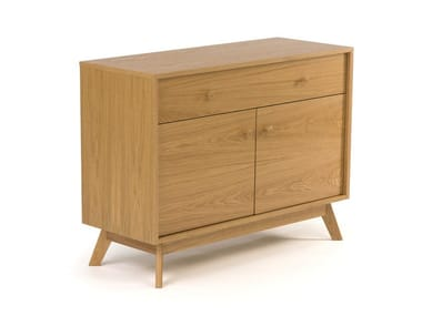 Wood veneer sideboard with doors KENSAL | Sideboard with doors